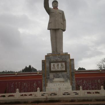 Mao Zedong, Statua, Cina