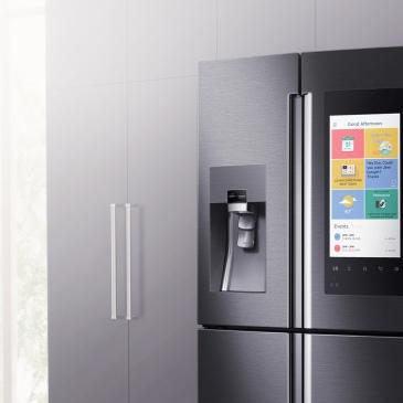frigorifero smart, Samsung Family Hub, innovazione, tecnologia